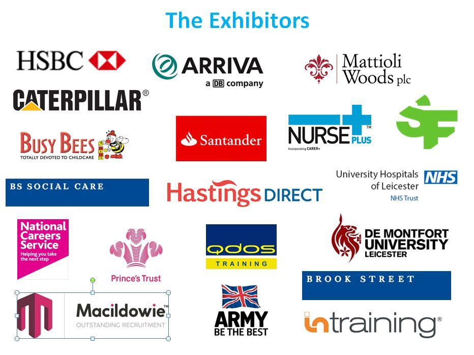 Exhibitors logos