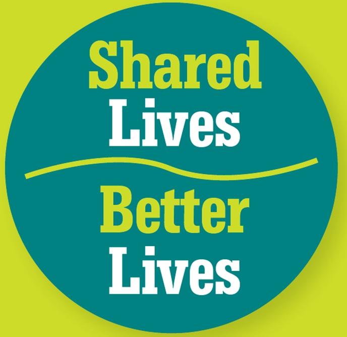 Shared Lives Better Lives emblem